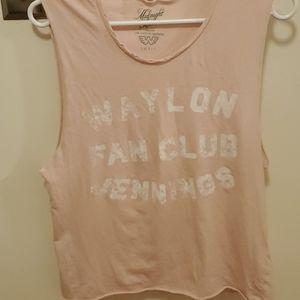 Waylon Jennings Fan Club T-shirt
